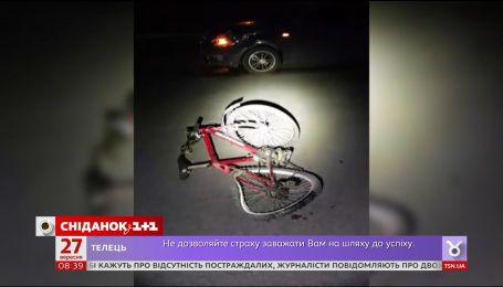 В Киеве участились ДТП с участием велосипедистов