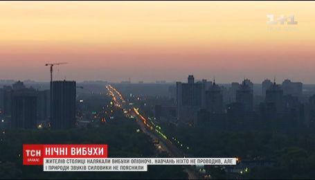 Нацгвардия опровергла слухи о причастности к ночным взрывам в Киеве