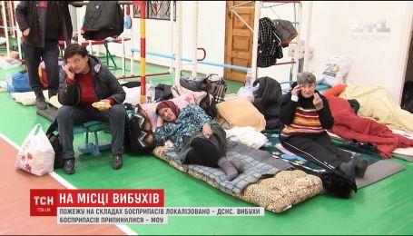 Жителям Калиновки и близлежащих сел уже разрешили вернуться домой