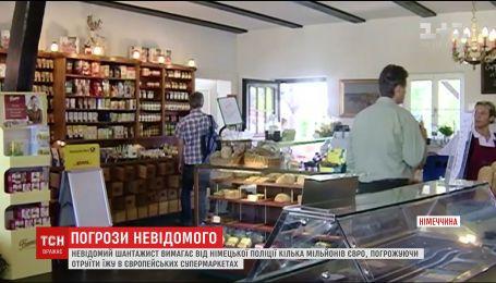 Мужчина угрожает отравить еду в супермаркетах стран ЕС