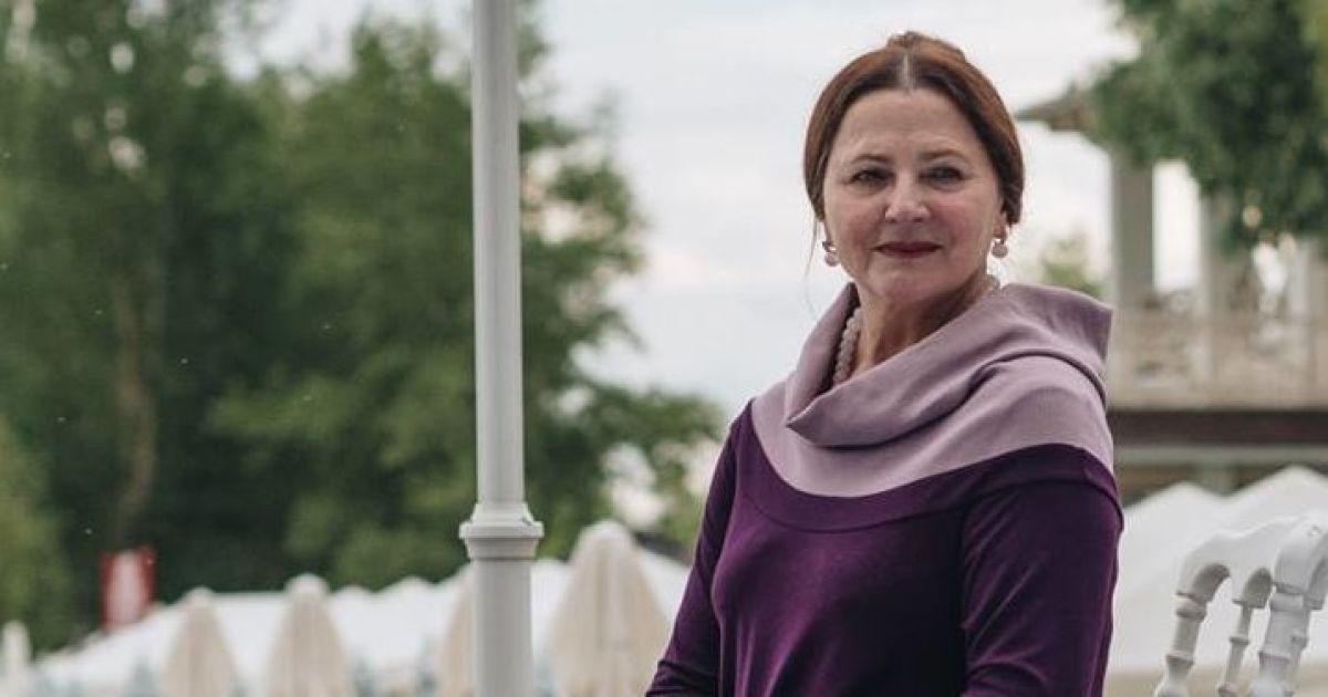 69-летняя Нина Матвиенко повисела на тросах в спортзале