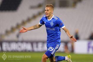 Динамівець Буяльський забив найкращий гол 2017 року в Україні