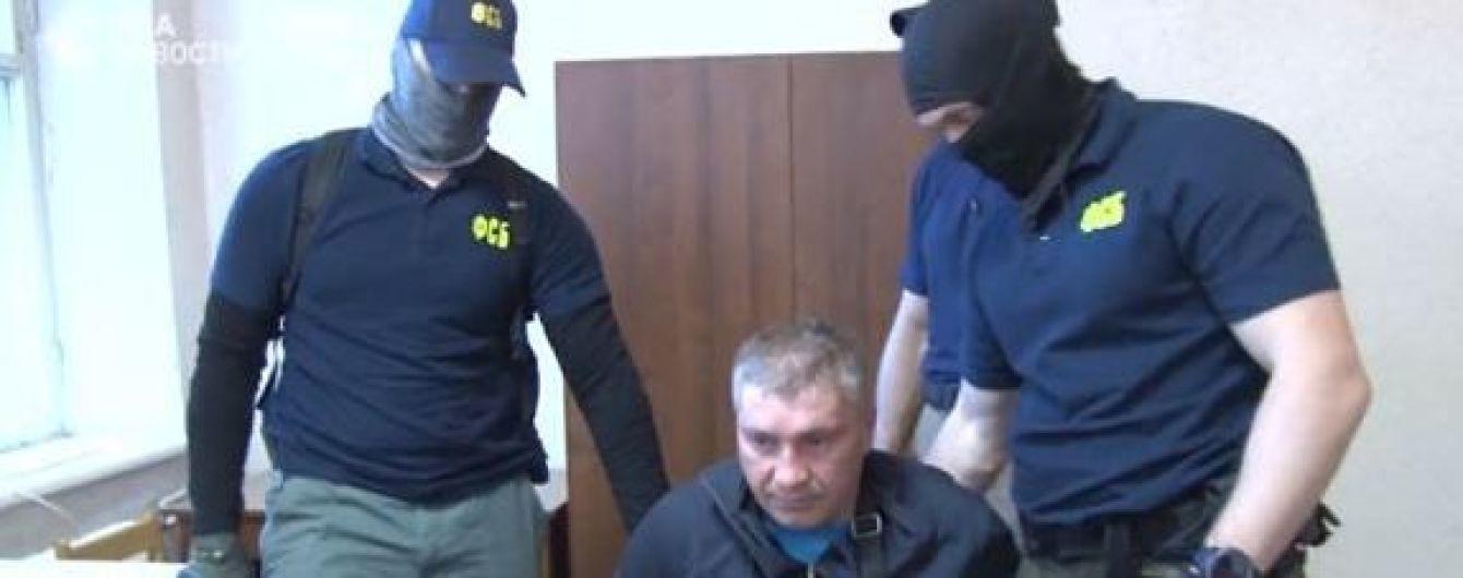"""ФСБ обнародовала видео задержания и допроса россиянина, подозреваемого в """"госизмене"""" в пользу Украины"""
