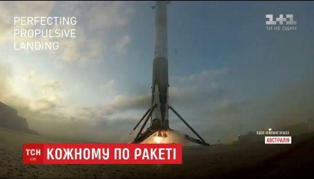 """За годину в будь-яку точку планети: Ілон Маск розповів про розробку нової ракети """"BFR"""""""