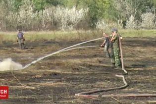 На Полтавщине горит 70 гектаров торфяников: на ликвидацию бросили 30 пожарных машин