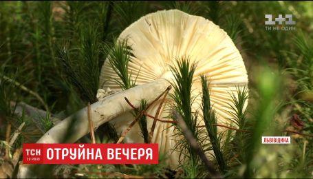 Мужчина умер из-за отравления бледной поганкой на Львовщине