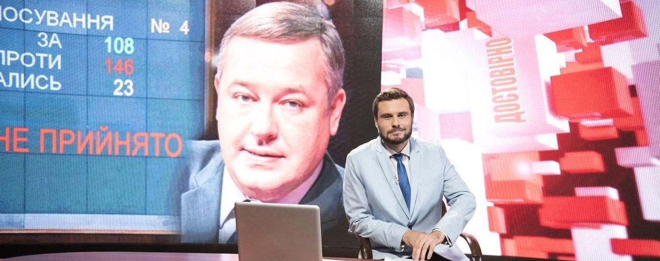 Єгор Гордєєв знову став ведучим новин