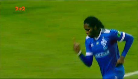 Заря - Динамо - 0:1. Видео гола Мбокани