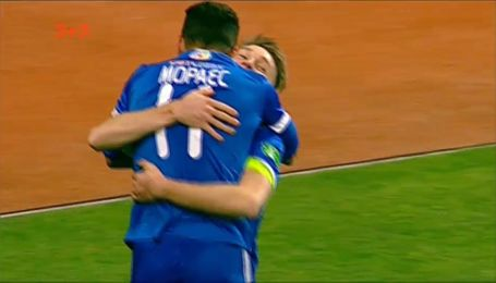 Зоря - Динамо - 0:3. Відео голу Мораеса