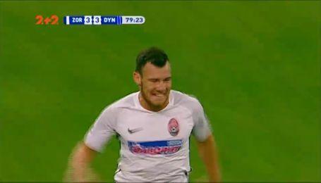 Зоря - Динамо - 3:3. Відео голу Сіласа