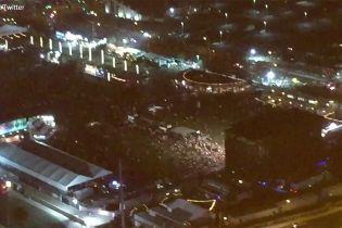 В Лас-Вегасе во время концерта в толпе открыли стрельбу