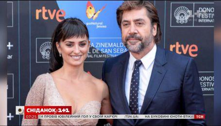 Пенелопа Крус и Хавьер Бардем затмили всех на кинофестивале в Сан-Себастьяне