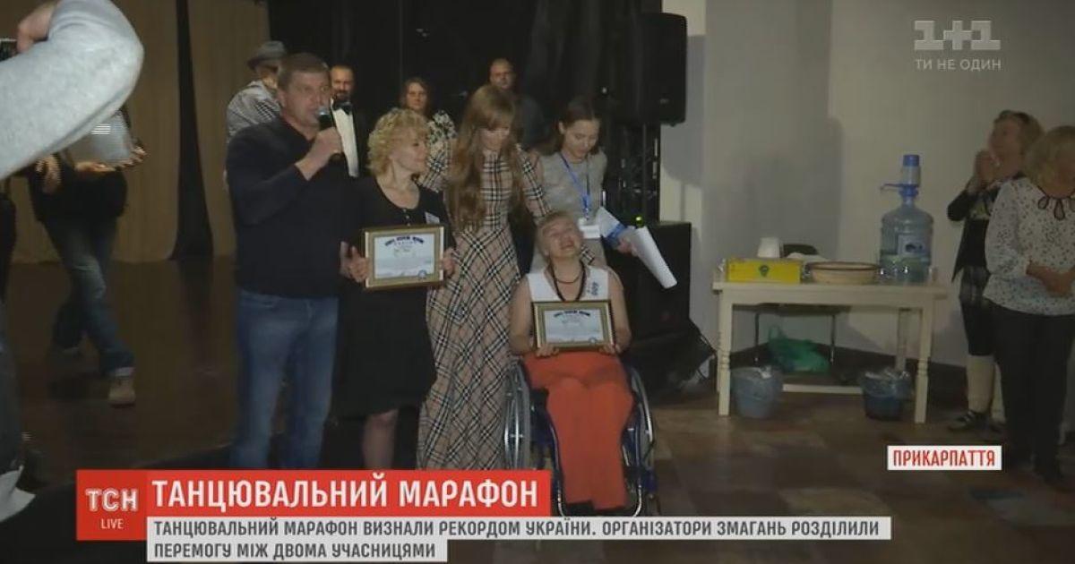 В Коломые «те, кому за 50» установили танцевальный рекорд Украины