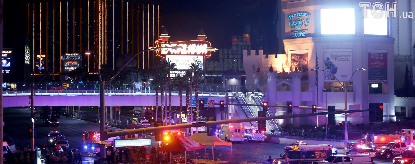 Кількість загиблих та постраждалих у кривавій стрілянині в Лас-Вегасі стрімко зростає