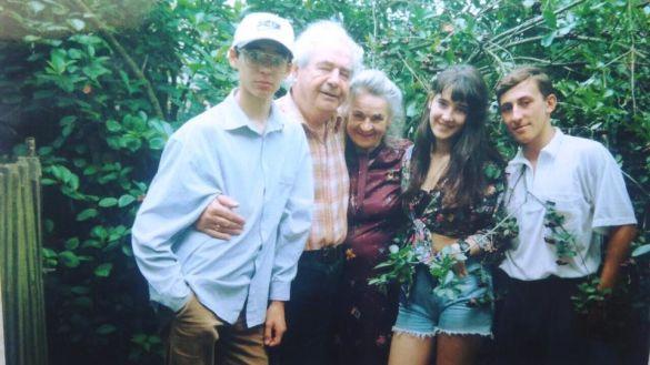 Соломія Вітвіцька з рідними