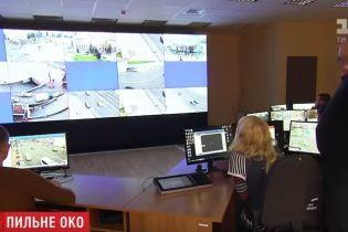 Зоркий глаз. В Киеве разместили 4 тысячи видеокамер, которые распознают человеческие лица и автономера