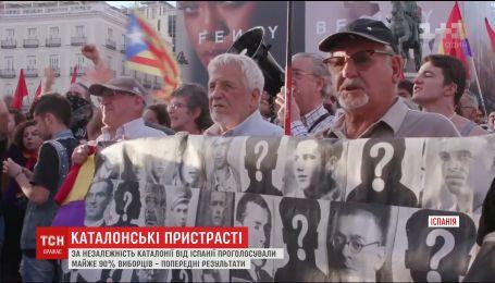 В Каталонии начнется всеобщая забастовка и последующие массовые протесты