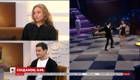 """Алена Шоптенко и Ахтем Сеитаблаев в гостях """"Сніданку з 1+1"""""""