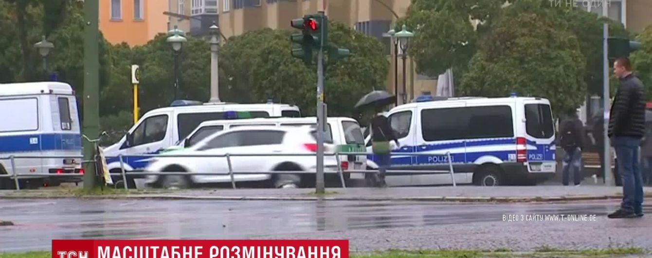 В Берлине эвакуировали 10 тысяч граждан из-за авиабомбы