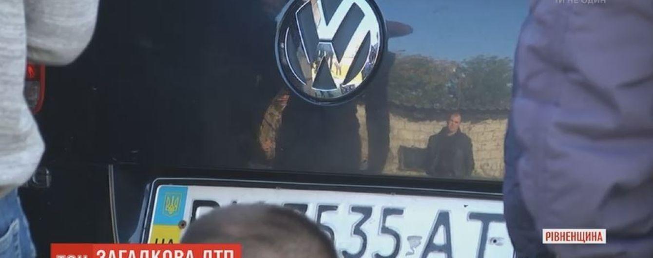 На Рівненщині поліцейського підозрюють у смертельній ДТП і втечі з місця аварії