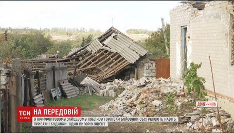 Боевики выпустили по Гнутово почти 40 снарядов с реактивной системы залпового огня
