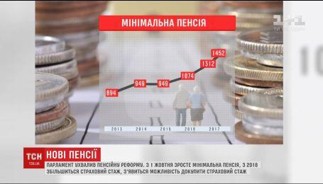 С первого октября в Украине вырастет минимальная пенсия