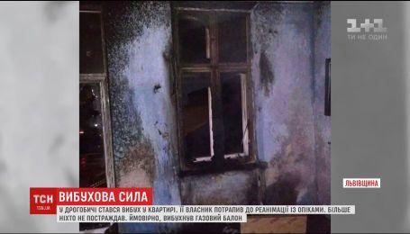 Львовянин попал в реанимацию с ожогами тела из-за взрыва газа в квартире