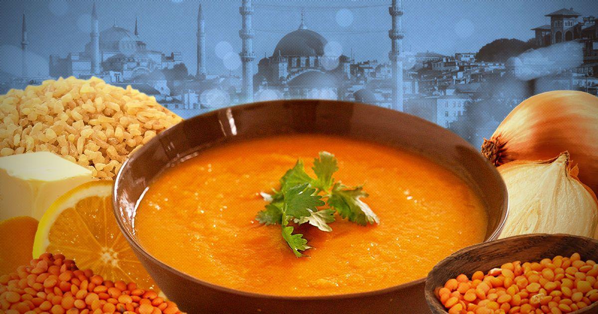 Мерджимек чорбасы: турецкий суп из чечевицы