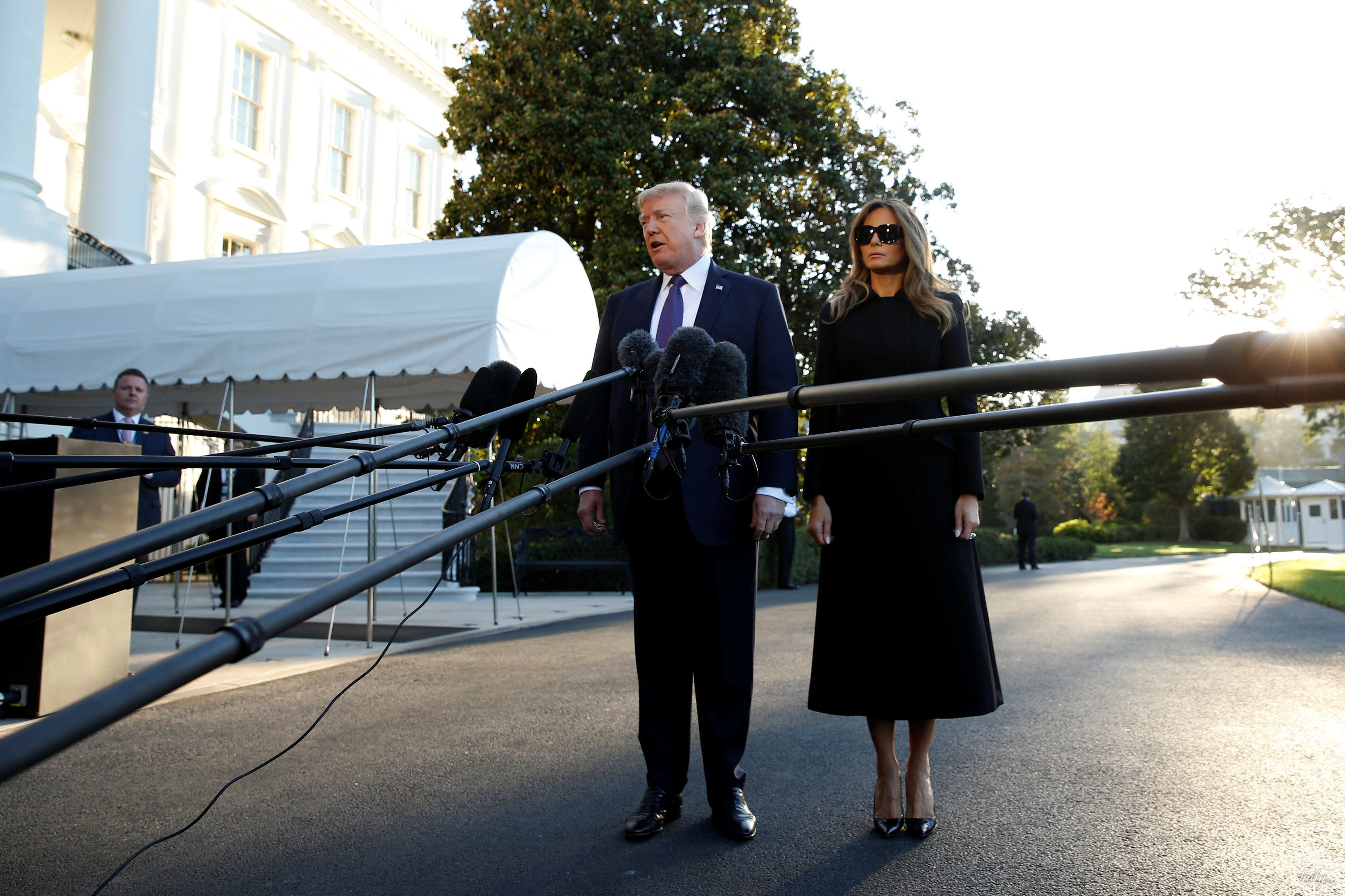 Мелания и Дональд Трамп_4