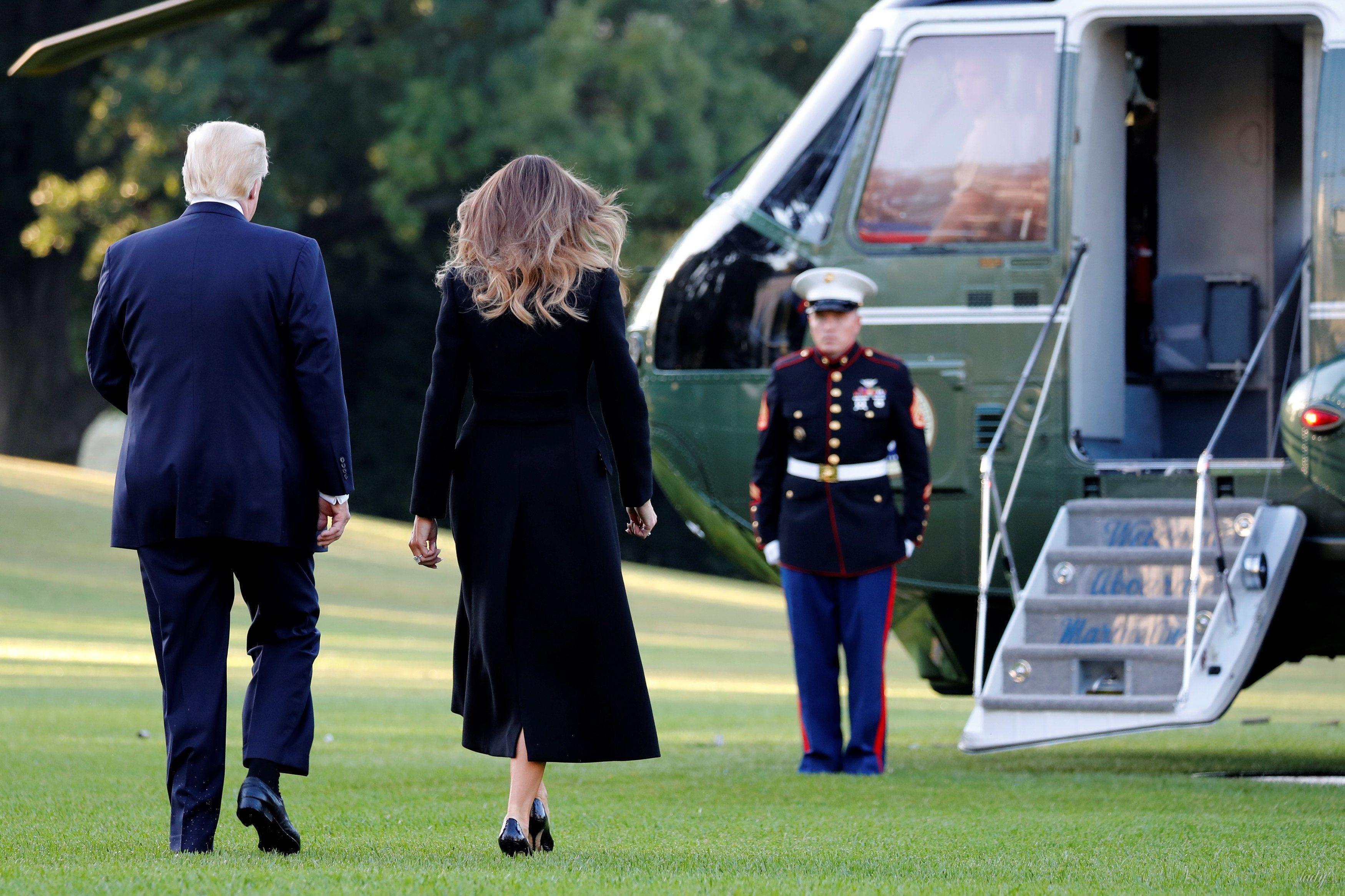 Мелания и Дональд Трамп_6