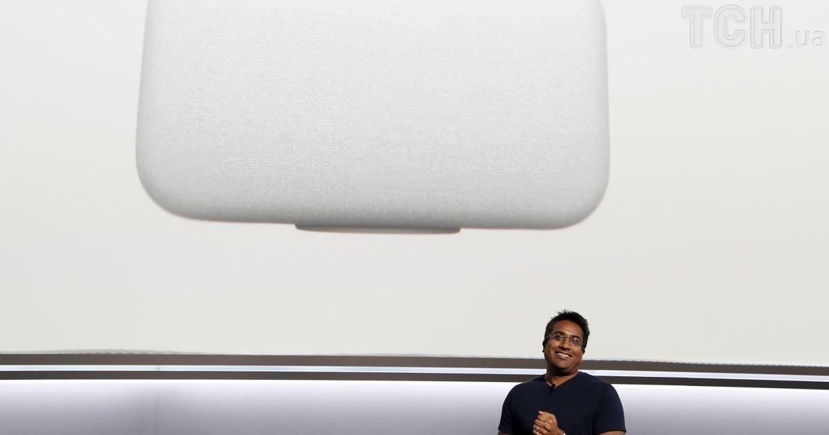Колонка Google Home Max.