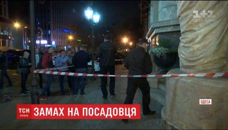 Поліція вважає, що замах на першого заступника голови Одеської обласної ради скоїли через бізнес