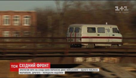 На фронте двое украинских военных получили ранения