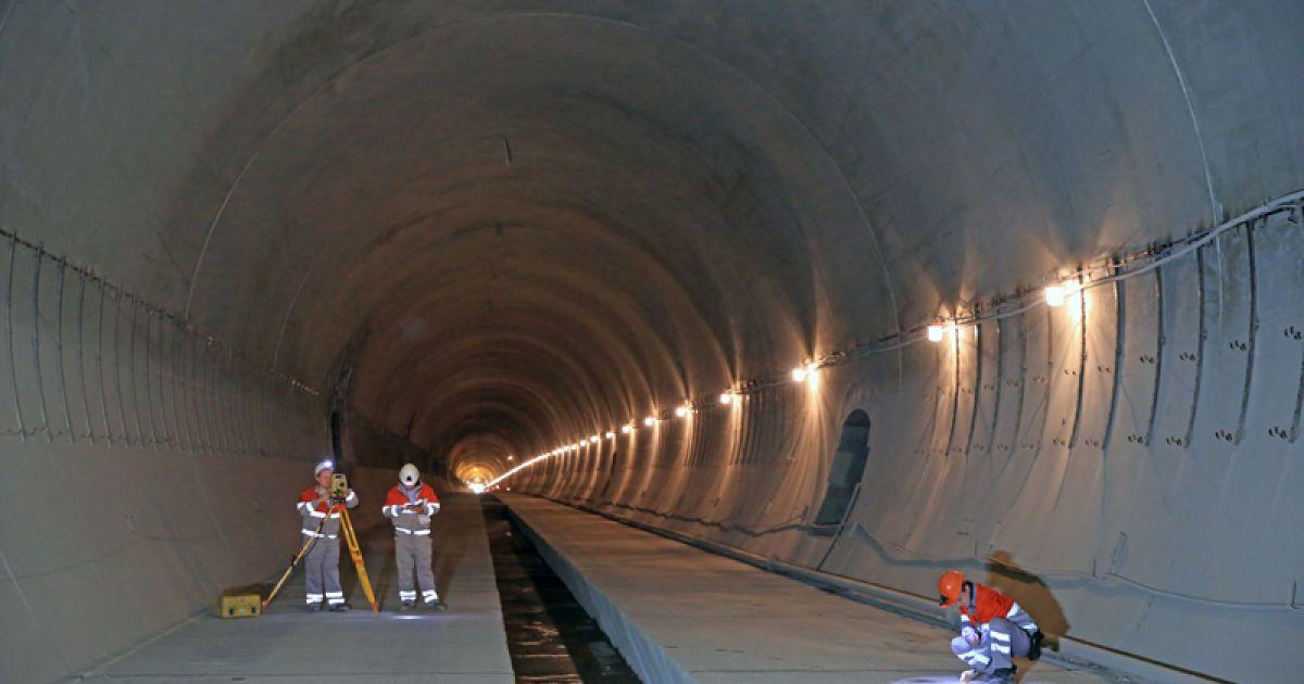 В Карпатах завершено строительство нового Бескидского тоннеля