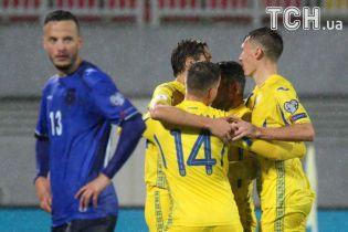 Украина победила Косово и сохранила шанс на выход на ЧМ-2018