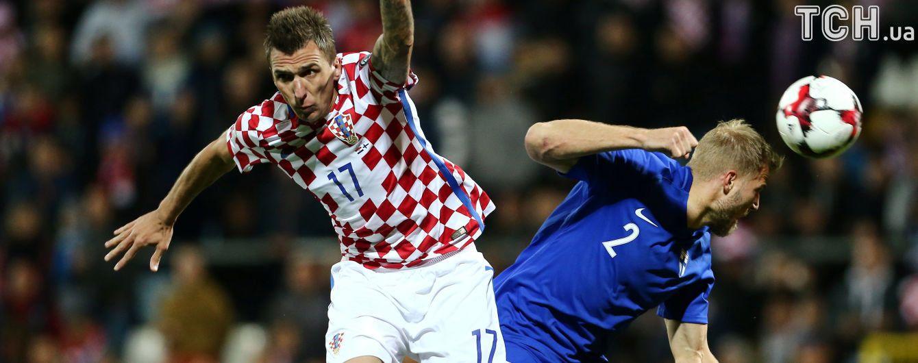 Сборная Хорватии снова понесла потери перед матчем с Украиной