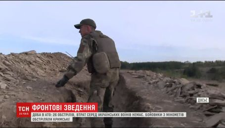 Из штаба АТО сообщают об активизации боевиков на Востоке