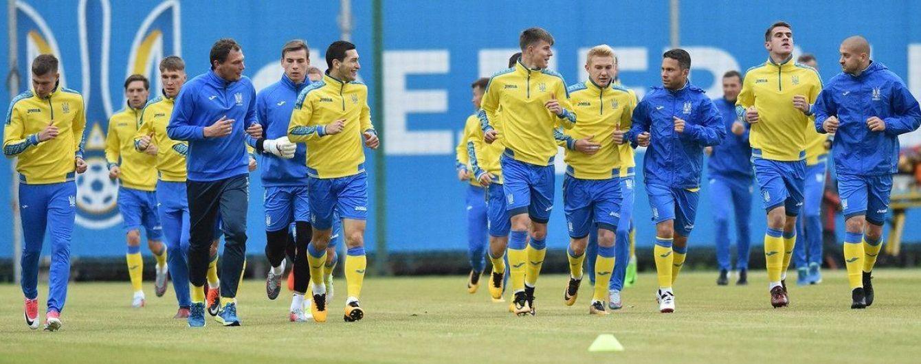 Букмекеры не верят в успех сборной Украины в игре против Хорватии