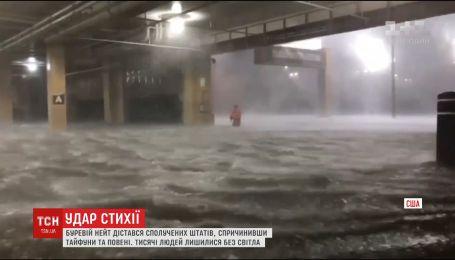 """Новый шторм в США. Ураган """"Нейт"""" привел к тайфуну в Мексиканском заливе"""