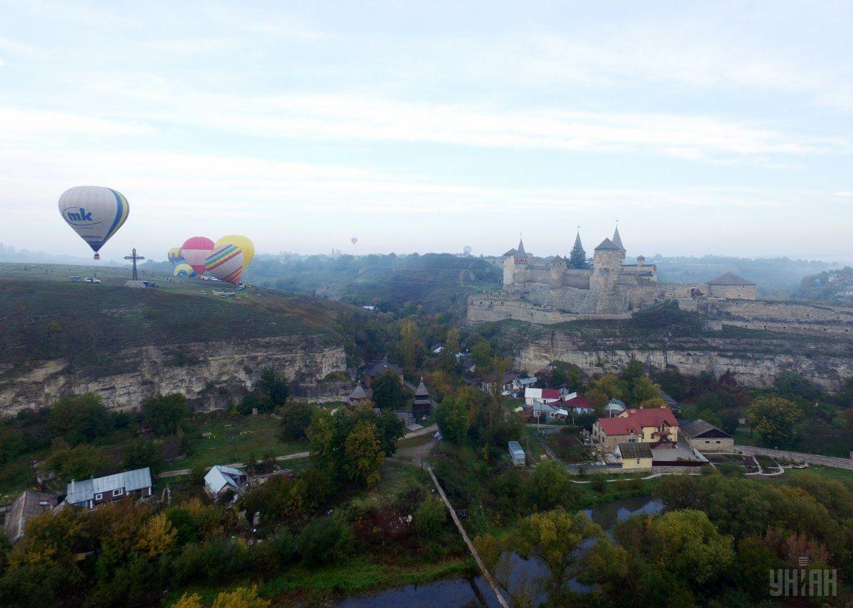 Кам'янець-Подільський, осінь, погода