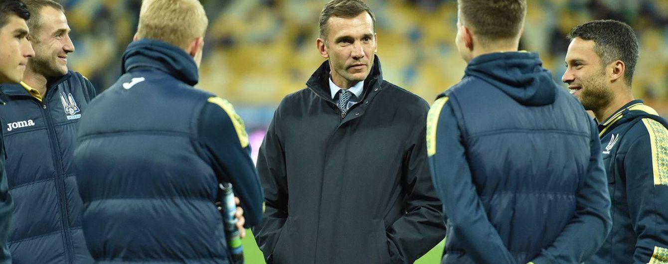 Шевченко хоче організувати для України два товариські матчі в листопаді