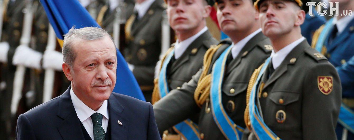 """""""Делікатне питання"""": Ердоган уникнув відповіді щодо антиросійських санкцій"""