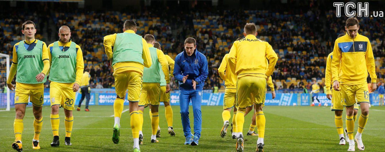 Збірна України розпочне Лігу націй виїзним матчем з чехами