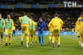 Сборная Украины начнет Лигу наций выездным матчем с чехами