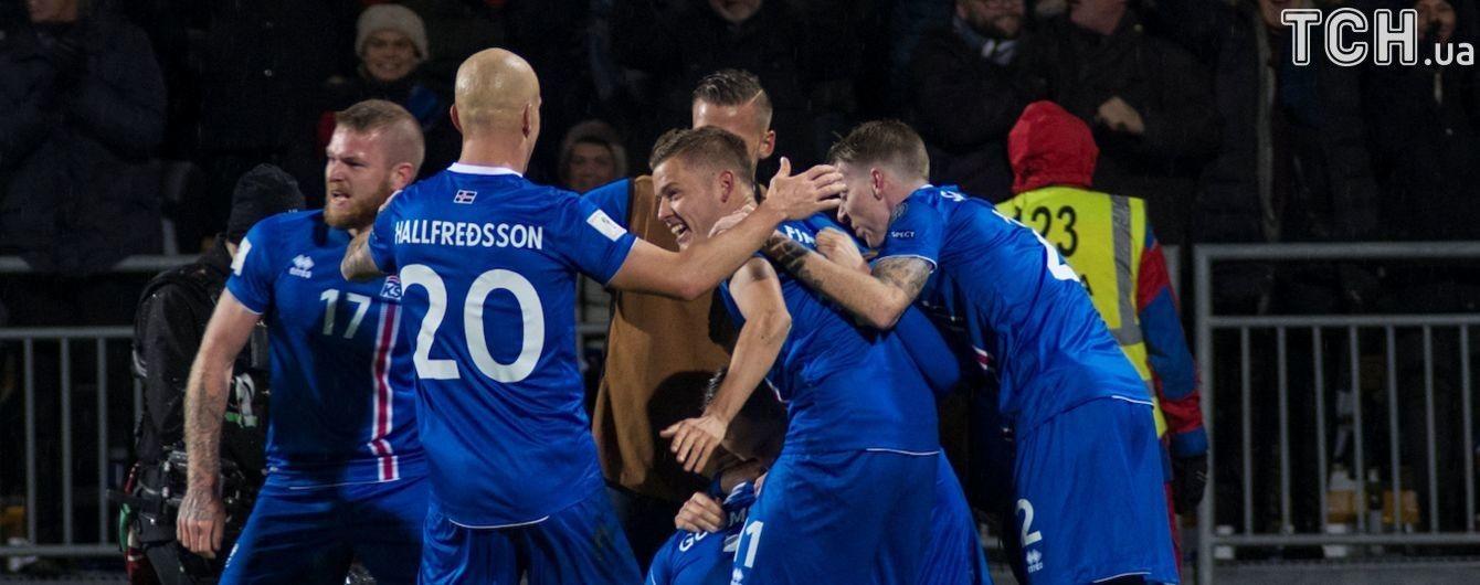 Сборная Исландии уже установила рекорд чемпионатов мира
