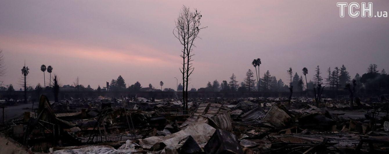 Спалені винні заводи та 23 загиблих: пожежники намагаються зупинити вогняну стихію у Каліфорнії