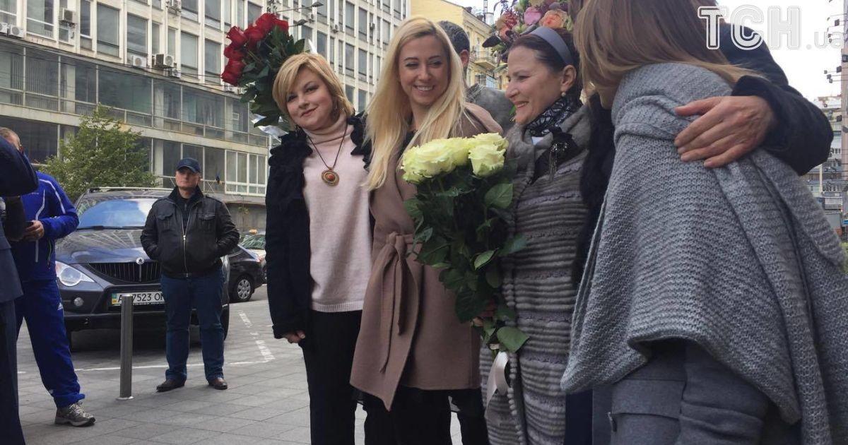 В Киеве открыли именную звезду в честь Нины Матвиенко @ SARAFAN