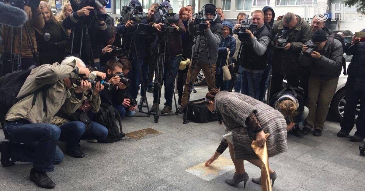 У Києві відкрили іменну зірку на честь Ніни Матвієнко @ SARAFAN