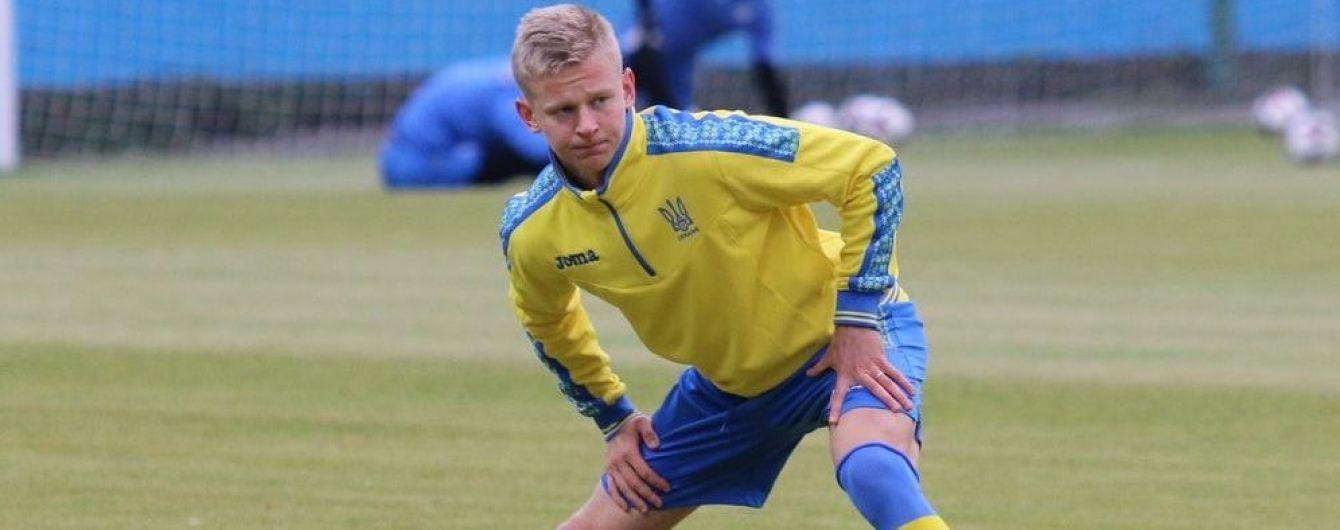 К молодежной сборной Украины присоединились четверо игроков национальной команды