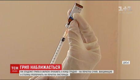 В конце декабря в Украине ожидается эпидемия гриппа